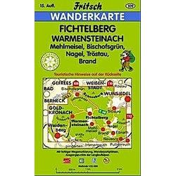 Fritsch Karte - Fichtelberg  Warmensteinach - Buch