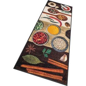 Küchenläufer Hot Spices, wash+dry by Kleen-Tex, rechteckig, Höhe 9 mm, In- und Outdoor geeignet, waschbar 75 cm x 190 cm x 9 mm