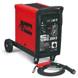 TELWIN Telmig 250/2 Turbo MIG MAG Schweißgerät Inkl. Schlauchpaket und Zubehör
