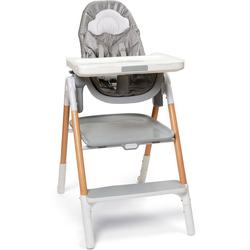 Skip Hop Hochstuhl Sit-to-Step mit Neugeborenenaufsatz; klappbar