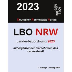 Landesbauordnung Nordrhein-Westfalen als Buch von