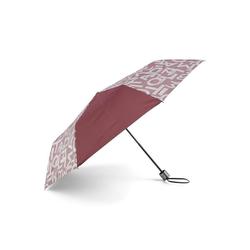 TOM TAILOR Taschenregenschirm Extra Kleiner Regenschirm rot