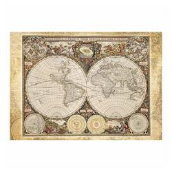 Schmidt Spiele Puzzle Historische Weltkarte, 2000 Puzzleteile