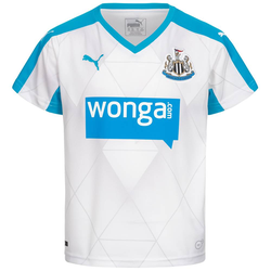 Newcastle United FC PUMA Kinder Auswärts Trikot 747892-02 - 140