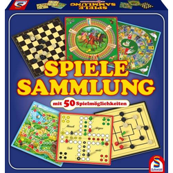 Schmidt Spiele Spiele-Sammlung mit 50 Spielen 49112