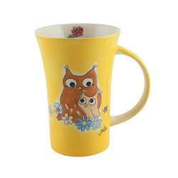 Mila Becher Mila Keramik-Becher Coffee Pot Eulen Eul-ways