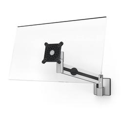 DURABLE MONITOR Wandhalterung, (Durable 509023 Monitor Wandhalterung, flexibler Schwenkarm 360° drehbar, für VESA Bildschirme 21-27