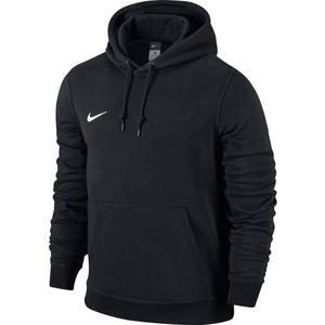 Nike Unisex Kinder Kapuzenpullover Team Club, Schwarz (Black/football White), M