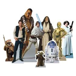 empireposter Dekofigur Star Wars - Heroes - Table Tops - Pappaufsteller - 9 kleine Tischaufsteller der Grösse 20x30 cm
