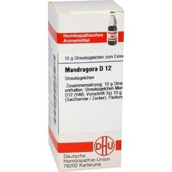 MANDRAGORA D 12 Globuli 10 g