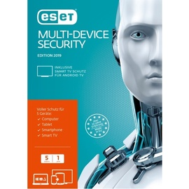 Eset Multi-Device Security 2019 5 User FFP ML Win Mac Android Lin
