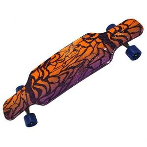 Premium Sports Low Skateboard Funboard Longboard farbig Größe 81cm Abec 7 Lager
