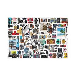 EUROGRAPHICS Puzzle Puzzle Klassische Kamera - Puzzle-Dose, 550 Teile, Puzzleteile