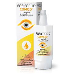 POSIFORLID COMOD 1mg/ml Augentropfen 10 Milliliter