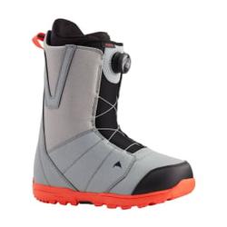 Burton - Moto Boa Gray/Red 20 - Herren Snowboard Boots - Größe: 10,5 US