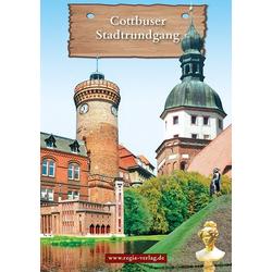 Cottbuser Stadtrundgang als Buch von Gisela Freitag/ Volker Köckel