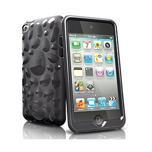 iSkin pebble f/ iPod Touch 4, Abdeckung, Schwarz, Apple, iPod touch 4G