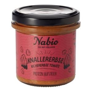 Nabio Protein Aufstrich - Kichererbse + Tomatebio