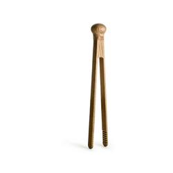 sagaform Servierzange Küchenzange Holz