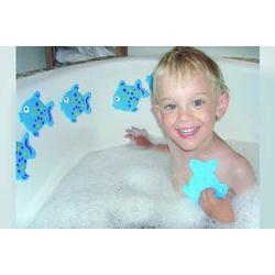 Anti-Rutschset Fisch 6-teilig Badespielzeug Antirutsch für Babys/Kleinkinder