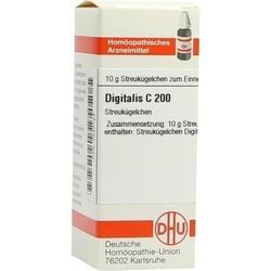 DIGITALIS C 200 Globuli 10 g