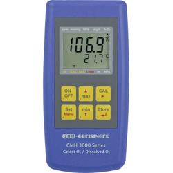 Greisinger GMH 3611-L04 Sauerstoffmessgerät O2-Konzentration, O2-Sättigung, Druck