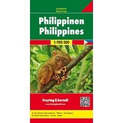 Philippinen Autokarte 1:900.000
