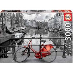 Educa Puzzle. Amsterdam black & white 3000 Teile