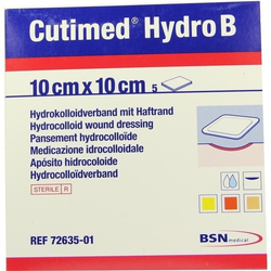 CUTIMED Hydro B Hydrok.Ver.10x10 cm m.Haftr. 5 St