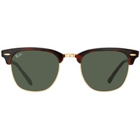 Ray Ban Clubmaster Classic RB3016 W0366 51-21 gloss tortoise/green