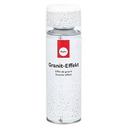 Granit-Effektspray, weiß-grau, 200 ml