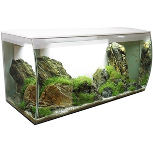 FLUVAL Aquarium FLEX 123, BxTxH: 82x40x39 cm, 123 Liter weiß