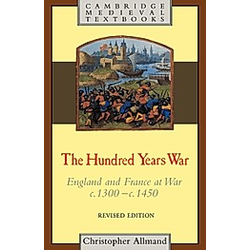 The Hundred Years War. C. T. Allmand  Christopher Allmand  - Buch