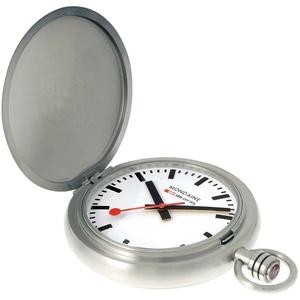MONDAINE SBB Savonette Taschenuhr mit Sprungdeckel A660.30349.16SBB