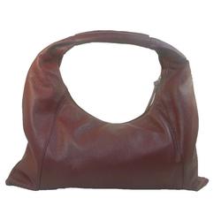 Eastline Handtasche, echtes Leder rot