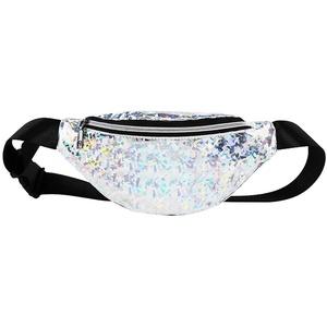 Sport Gürteltasche Reise Bauchtasche Hüfttasche geeignet für Reise, Gürteltaschen für Damen und Herren, Gürteltasche geeignet für Reise Wanderung (Silber)