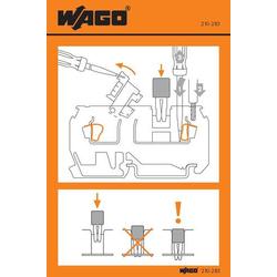 WAGO 210-283 Handhabungsaufkleber 100St.