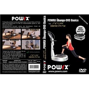 POWRX Vibrationstrainings Übungs-DVD Basics - Vibrationsplatte - Vibration Plate Mia Gray