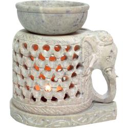Guru-Shop Duftlampe Indische Duftlampe, ätherisches Öl Diffusor,.. 10 cm x 10 cm x 8 cm