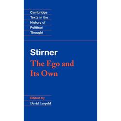 Stirner als Buch von Max Stirner/ Stirner Max