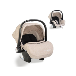 Moni Babyschale Kindersitz, Babyschale Veyron Gruppe 0+, 3.1 kg, (0 -13 kg) Sonnendach, Adapter grau 44.5 cm x 36 cm x 67.5 cm