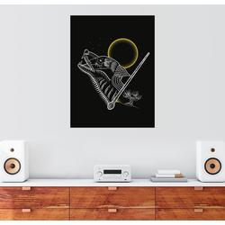 Posterlounge Wandbild, Harry Potter - Grimm 60 cm x 80 cm