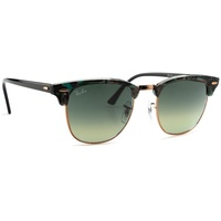 Ray Ban Clubmaster RB3016 125571 51-21 gloss spotted grey and green/grey