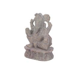 Guru-Shop Buddhafigur Ganeahsfigur aus Speckstein, Ganesha Skulptur -..