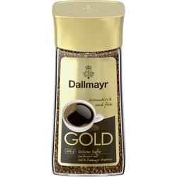 Dallmayr Gold löslicher Bohnenkaffee aromatisch fein im Glas 200g