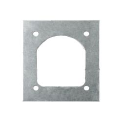 Gegenplatte Zurröse / Zurrmulde Winterhoff ZBF 70-1 für Pkw-Anhänger