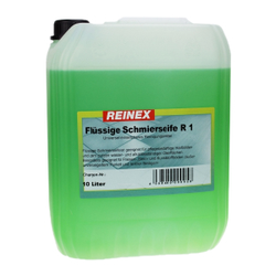 Reinex R1 Schmierseife flüssig Universalreiniger, kraftvolle Seife zum Wischen und Schmieren, 10 l - Kanister