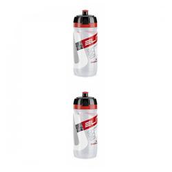Elite Trinkflasche 2 x Elite Trinkflasche Corsa 550 ml - rot