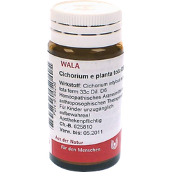 CICHORIUM E planta tota D 6 Globuli 20 g