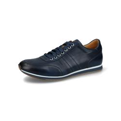 Magnanni Sneaker azul, Gr. 45, Leder - Herren Sneaker